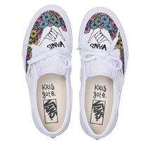 VANS Tropical Patterns Unisex Logo Loafers & Slip-ons