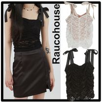 Raucohouse Casual Style Street Style Tanks & Camisoles