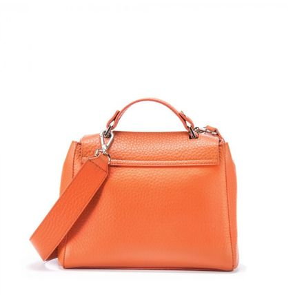Casual Style Plain Leather Party Style Office Style