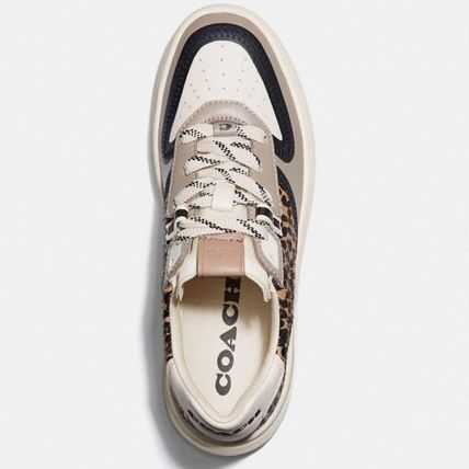 Plain Toe Round Toe Rubber Sole Lace-up Casual Style Unisex