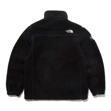 THE NORTH FACE SNOW CITY Unisex Street Style Shearling Logo Fleece Jackets Jackets