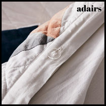 Adairs Unisex Plain Pillowcases Comforter Covers Co-ord