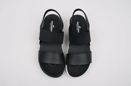 Casual Style Unisex Street Style Logo Sandals