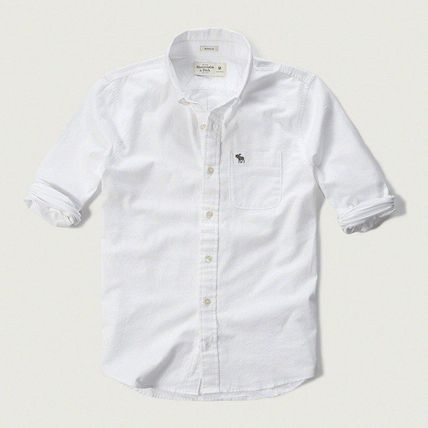 Long Sleeves Cotton Surf Style Shirts