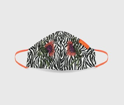 Zebra Patterns Flower Patterns Casual Style Unisex
