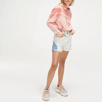 Tommy Hilfiger Short Casual Style Street Style Cotton Logo