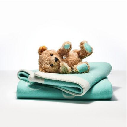 Tiffany & Co RETURN TO TIFFANY Unisex Blended Fabrics Collaboration New Born 3 months