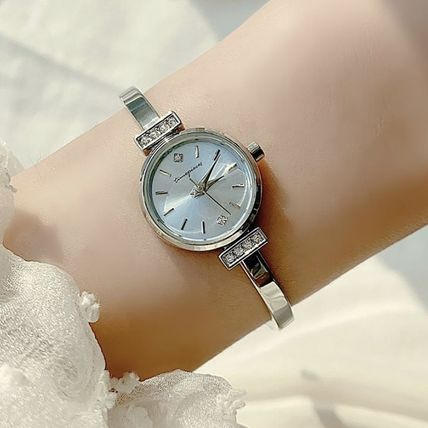 Metal Round Party Style Quartz Watches Jewelry Watches