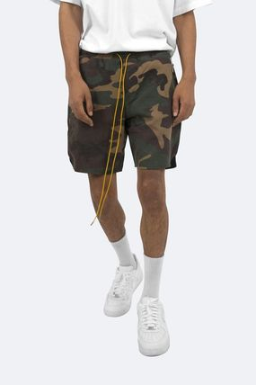 MNML Camouflage Street Style Cotton Cargo Shorts