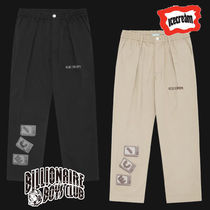 Billionaire Boys Club Street Style Logo Cropped Pants