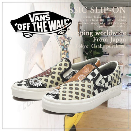 VANS Casual Style Unisex Slip-On Shoes