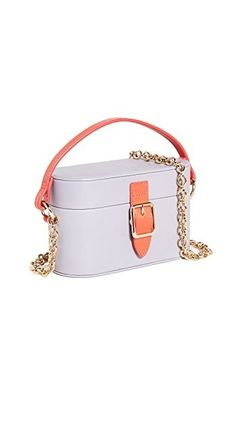 Casual Style 2WAY Bi-color Leather Elegant Style Crossbody