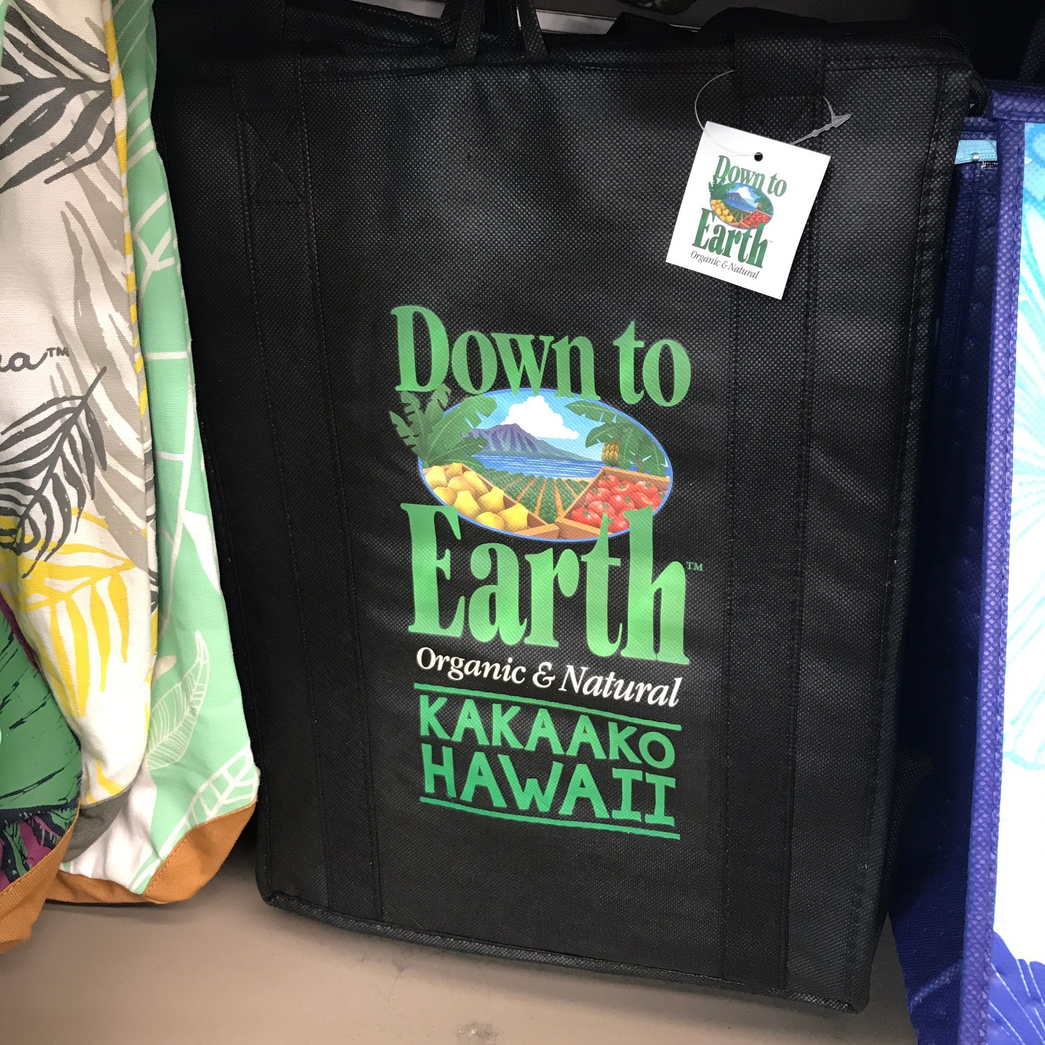 shop down to earth bags
