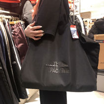 THE NORTH FACE WHITE LABEL Unisex Street Style Plain Logo Totes