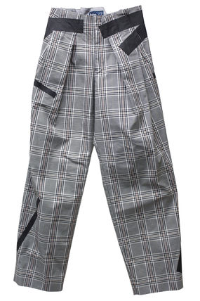 Glen Patterns Casual Style Office Style Pants