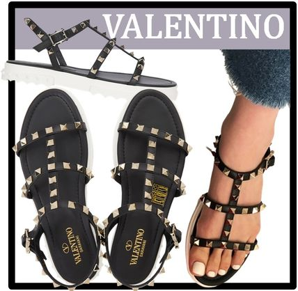 VALENTINO Casual Style Elegant Style Sandals