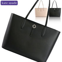 kate spade new york A4 Plain Leather Office Style Totes