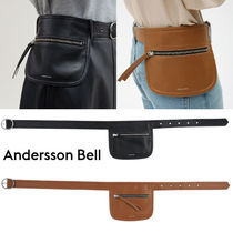 ANDERSSON BELL Casual Style Unisex Street Style Oversized Logo Bags