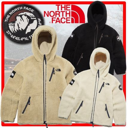 THE NORTH FACE RIMO Casual Style Unisex Street Style Shearling Jackets