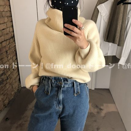 CELINE Cowl Neck Sweater In Iconic Cashmere