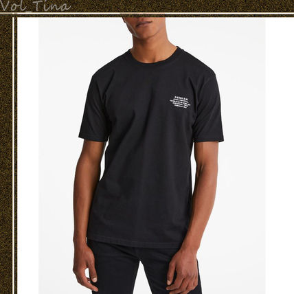 Crew Neck Cotton Short Sleeves Logo Surf Style