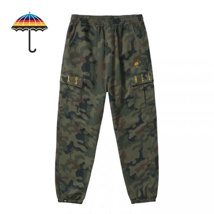 Camouflage Street Style Pants