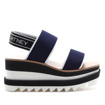 Stella McCartney ELYSE Square Toe Platform Casual Style Logo Shoes