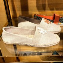 Tory Burch Round Toe Casual Style Logo Slip-On Shoes