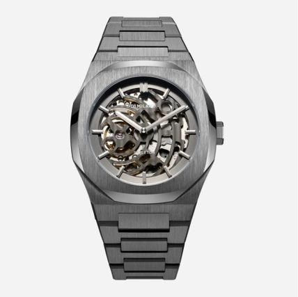 Round Party Style Quartz Watches Stainless Office Style