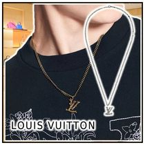 Louis Vuitton 2020-21 AW LV WOOD NECKLACE silver gold necklaces & chokers