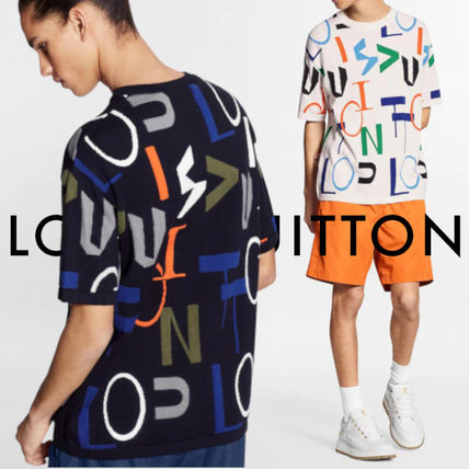 Louis Vuitton More T-Shirts Lv Electric Intarsia T-Shirt