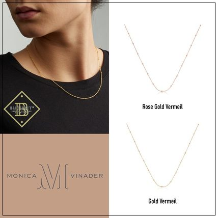 Monica Vinader Necklaces & Pendants Costume Jewelry Casual Style Party Style Office Style