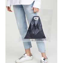 MM6 Maison Margiela Casual Style Unisex A4 Party Style Crystal Clear Bags