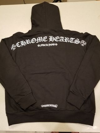 CHROME HEARTS Hoodies Unisex Long Sleeves Hoodies 3