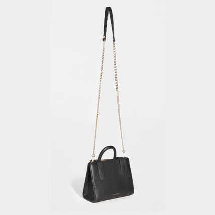 2WAY Leather Crossbody Handbags