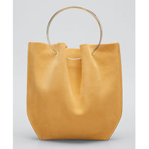 The Row Casual Style Suede Plain Party Style Office Style