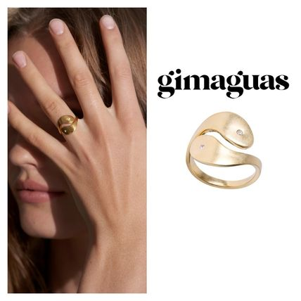 Casual Style Party Style Brass Elegant Style Rings