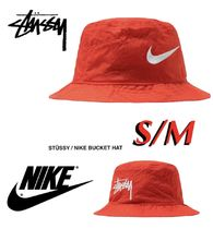 STUSSY Unisex Street Style Collaboration Wide-brimmed Hats