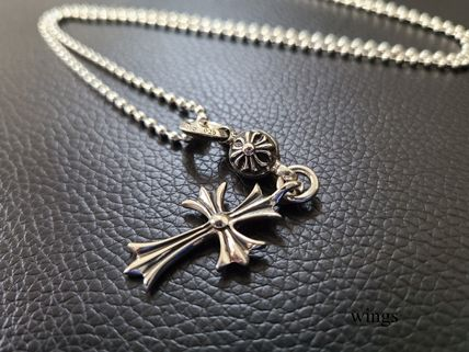 CHROME HEARTS Unisex Silver Chain Necklaces Necklaces & Chokers