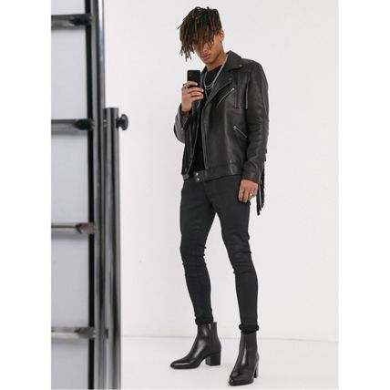 ASOS Leather Street Style Boots