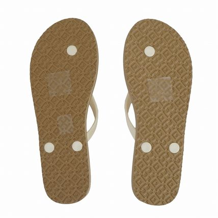 Casual Style Logo Sandals