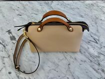 FENDI BY THE WAY Calfskin Street Style 2WAY Plain Elegant Style Crossbody
