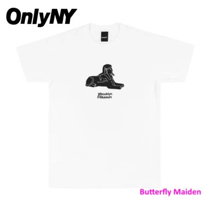 ONLY NY More T-Shirts Street Style Collaboration Cotton Logo Skater Style T-Shirts 2