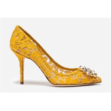 Dolce & Gabbana Formal Style  Pin Heels Party Style Elegant Style