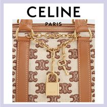 CELINE Leather Boston & Duffles