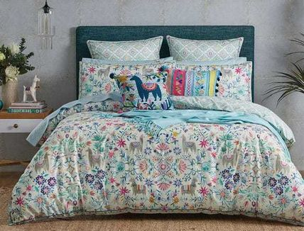 Flower Patterns Comforter Covers Art Patterns Co-ord