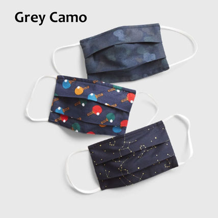 Unisex Street Style Military Icy Color Kids Girl Accessories