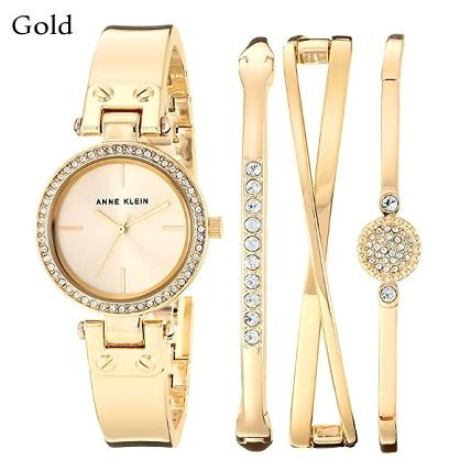 Casual Style Round Party Style Quartz Watches With Jewels