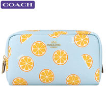 Coach Leather PVC Clothing Pouches & Cosmetic Bags