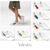 Valextra Leather Sneakers